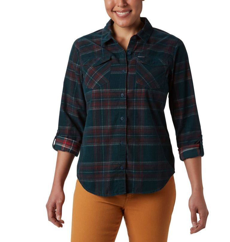 Women's Times Two™ Corduroy Long Sleeve Shirt Women's Times Two™ Corduroy Long Sleeve Shirt, a1