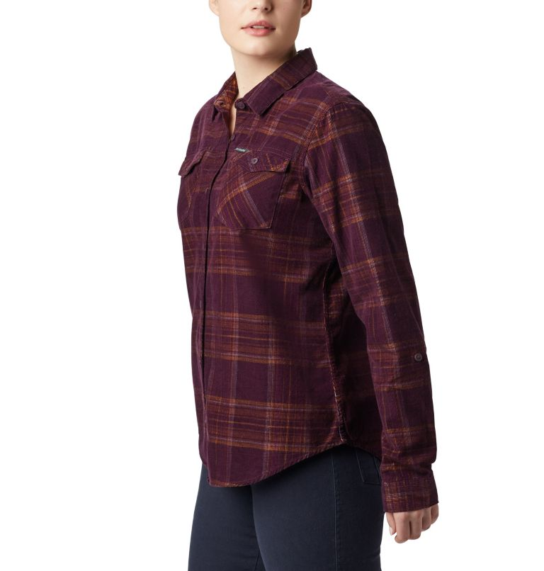 Women's Times Two™ Corduroy Long Sleeve Shirt Women's Times Two™ Corduroy Long Sleeve Shirt, a2