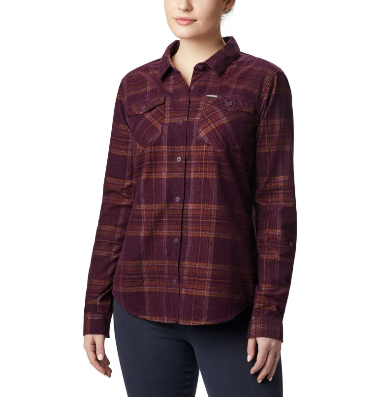 Women's Times Two™ Corduroy Long Sleeve Shirt Women's Times Two™ Corduroy Long Sleeve Shirt, front