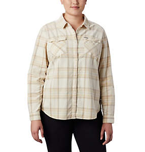 Women's Times Two™ Corduroy Long Sleeve Shirt - Plus Size
