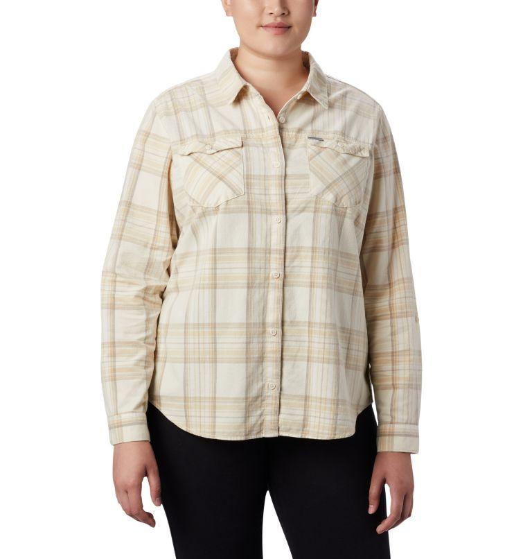 Women's Times Two™ Corduroy Long Sleeve Shirt - Plus Size Women's Times Two™ Corduroy Long Sleeve Shirt - Plus Size, front