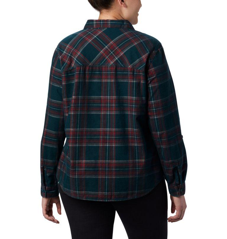 Women's Times Two™ Corduroy Long Sleeve Shirt - Plus Size Women's Times Two™ Corduroy Long Sleeve Shirt - Plus Size, back