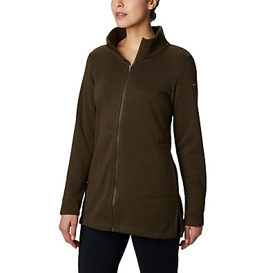 Manteau long Darling Days™ pour femme Darling Days™ Long Jacket | 191 | M, Olive Green, front