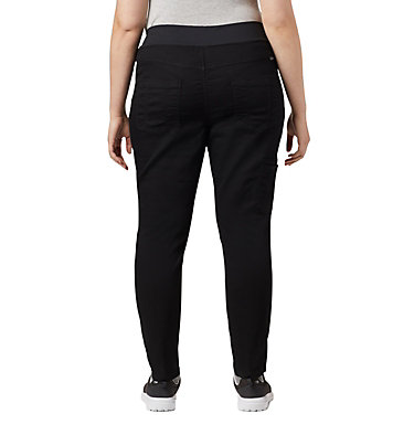 Women's Pinnacle Peak™ Hybrid Pants - Plus Size Pinnacle Peak™ Hybrid Pant | 010 | 3X, Black, back