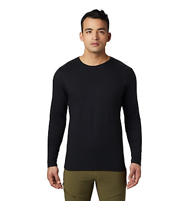 Men's Vertical Oriented™ Long Sleeve Shirt Vertical Oriented™ Long Sleeve | 105 | L, Black, front