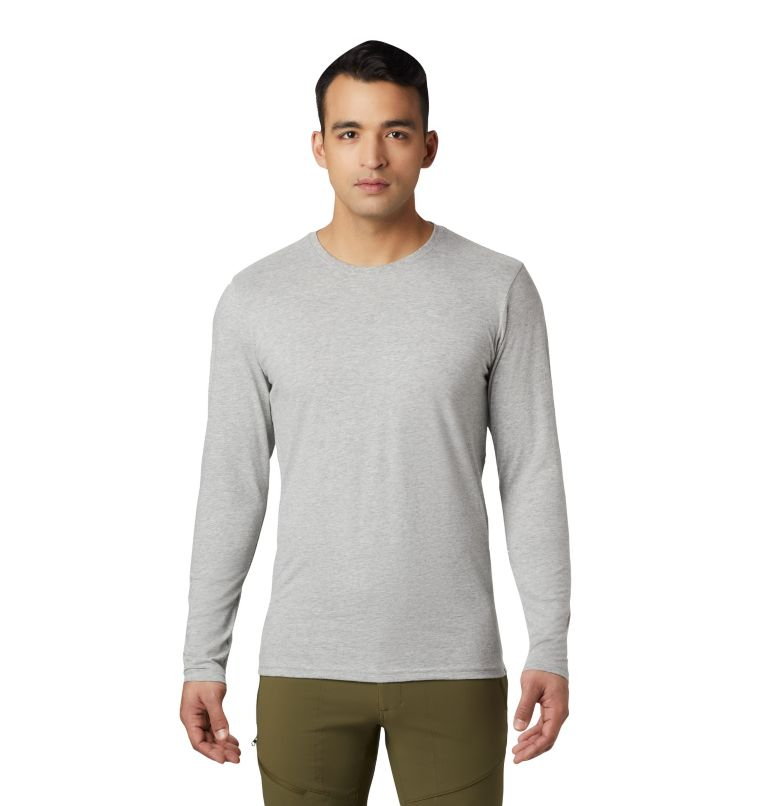 Men's Vertical Oriented™ Long Sleeve Shirt Men's Vertical Oriented™ Long Sleeve Shirt, front