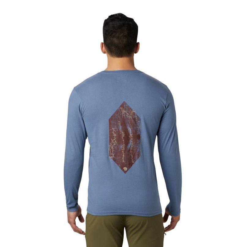 Men's Vertical Oriented™ Long Sleeve Shirt Men's Vertical Oriented™ Long Sleeve Shirt, back