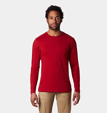 Men's Vertical Oriented™ Long Sleeve Shirt Vertical Oriented™ Long Sleeve | 105 | L, Dark Brick, front
