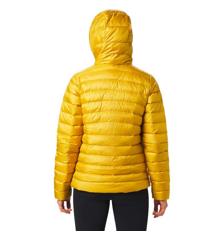 Rhea Ridge™ Pullover | 750 | S Women's Rhea Ridge/2™ Down Pullover, Gold Hour, back
