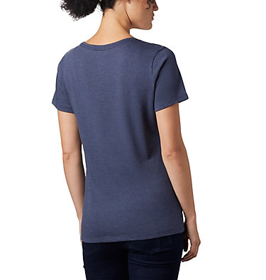 Women's Outer Bounds™ Short Sleeve Tee Outer Bounds™ SS Tee | 031 | S, Nocturnal Heather, Buffalo Check, back