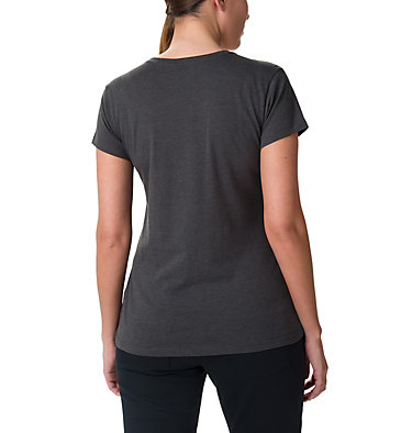 Women's Outer Bounds Short Sleeve T-Shirt Outer Bounds™ SS Tee | 191 | L, Charcoal Heather, Buffalo Check, back