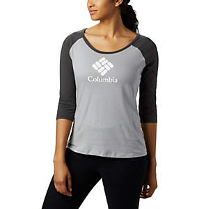 Women's Columbia Lodge™ 3/4 Sleeve Tee