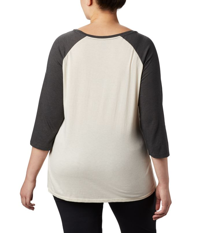 Women's Columbia Lodge™ 3/4 Sleeve Tee - Plus Size Women's Columbia Lodge™ 3/4 Sleeve Tee - Plus Size, back