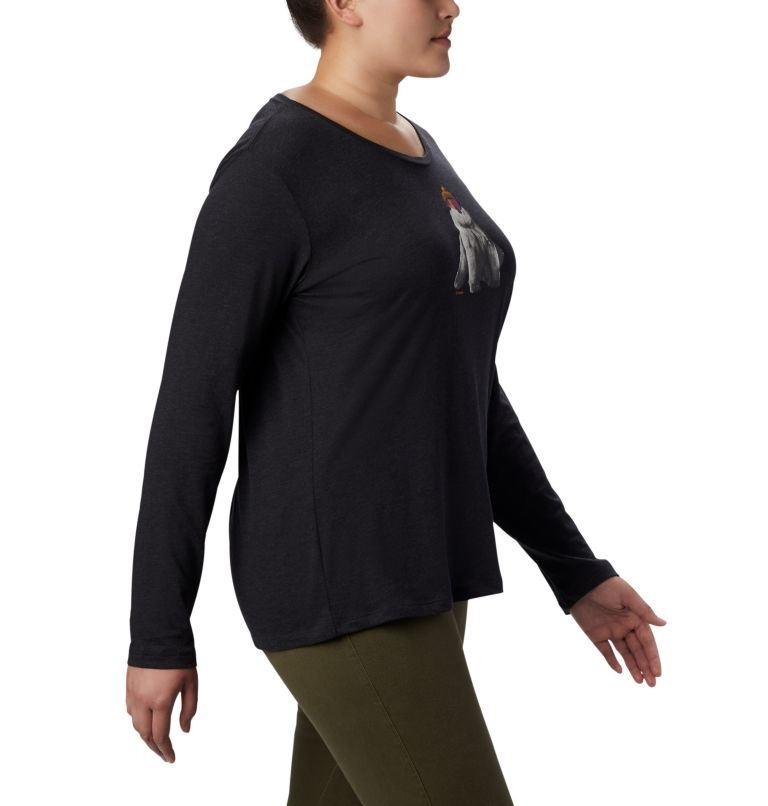 Women's Ruby Falls™ Long Sleeve Tee - Plus Size Women's Ruby Falls™ Long Sleeve Tee - Plus Size, a3