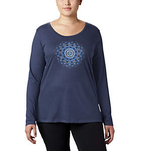 Women's Anytime™ Long Sleeve Tee - Plus Size