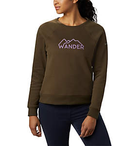 Women's Hart Mountain™ Long Sleeve Graphic Crew