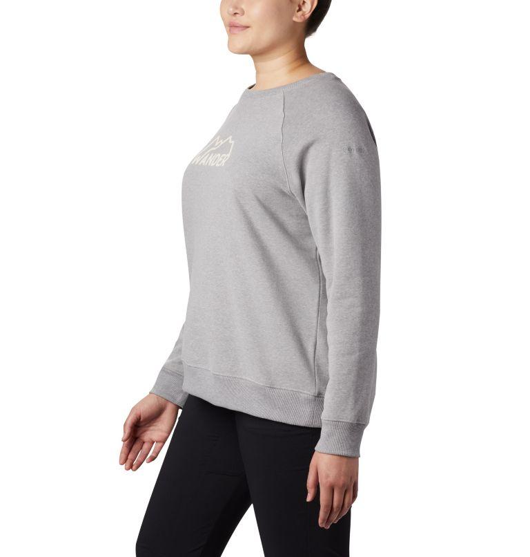 Women's Hart Mountain™ Long Sleeve Graphic Crew - Plus Size Women's Hart Mountain™ Long Sleeve Graphic Crew - Plus Size, a1