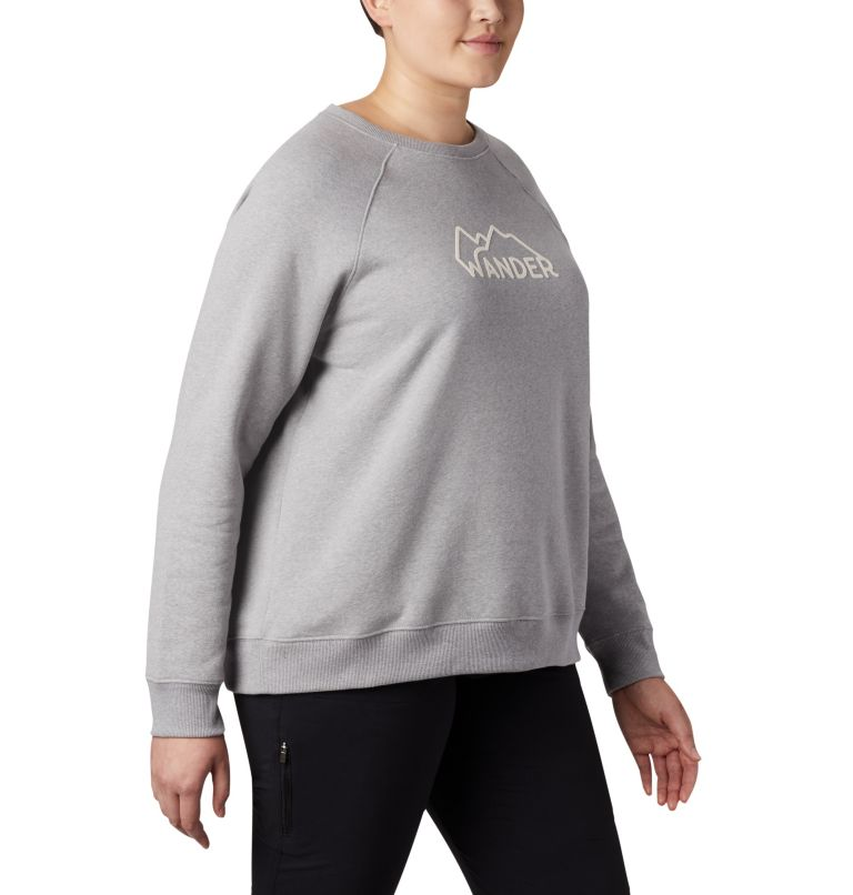 Women's Hart Mountain™ Long Sleeve Graphic Crew - Plus Size Women's Hart Mountain™ Long Sleeve Graphic Crew - Plus Size, a3
