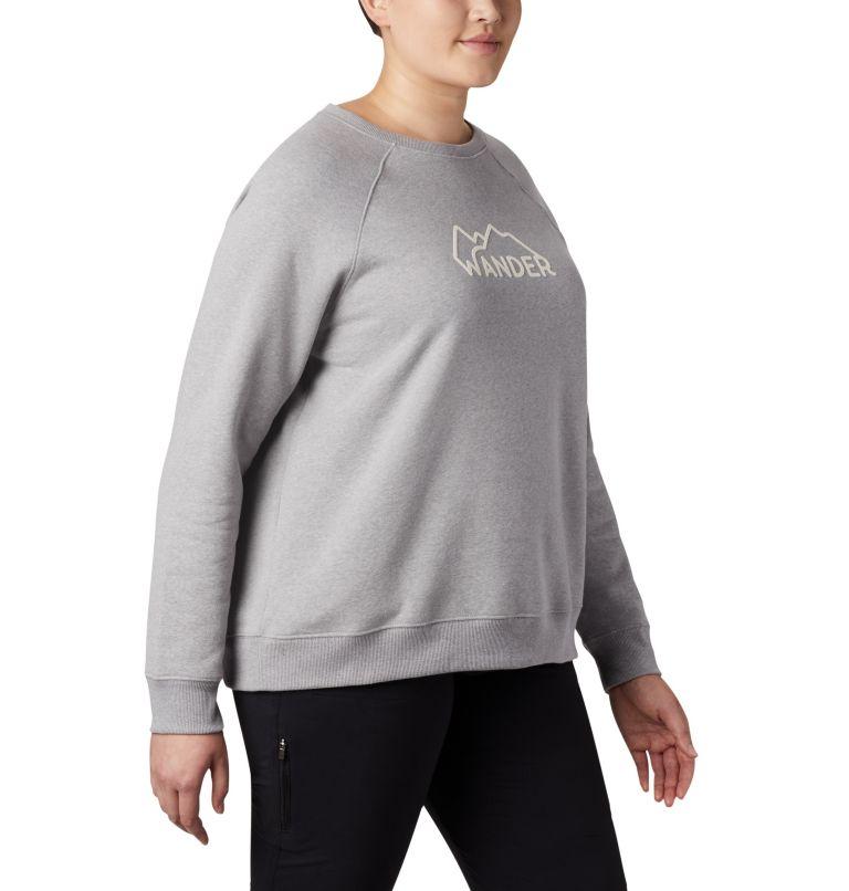 Women's Hart Mountain™ Long Sleeve Graphic Crew - Plus Size Women's Hart Mountain™ Long Sleeve Graphic Crew - Plus Size, a3