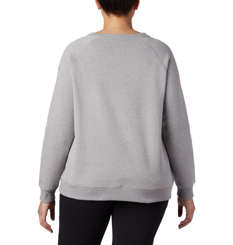 Women's Hart Mountain™ Long Sleeve Graphic Crew - Plus Size Women's Hart Mountain™ Long Sleeve Graphic Crew - Plus Size, back