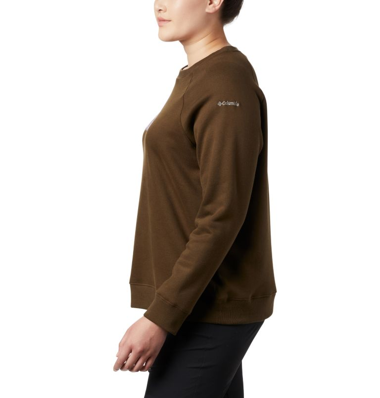 Women's Hart Mountain™ Long Sleeve Graphic Crew - Plus Size Women's Hart Mountain™ Long Sleeve Graphic Crew - Plus Size, a1