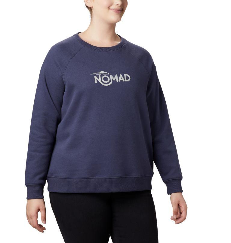 Women's Hart Mountain™ Long Sleeve Graphic Crew - Plus Size Women's Hart Mountain™ Long Sleeve Graphic Crew - Plus Size, a2