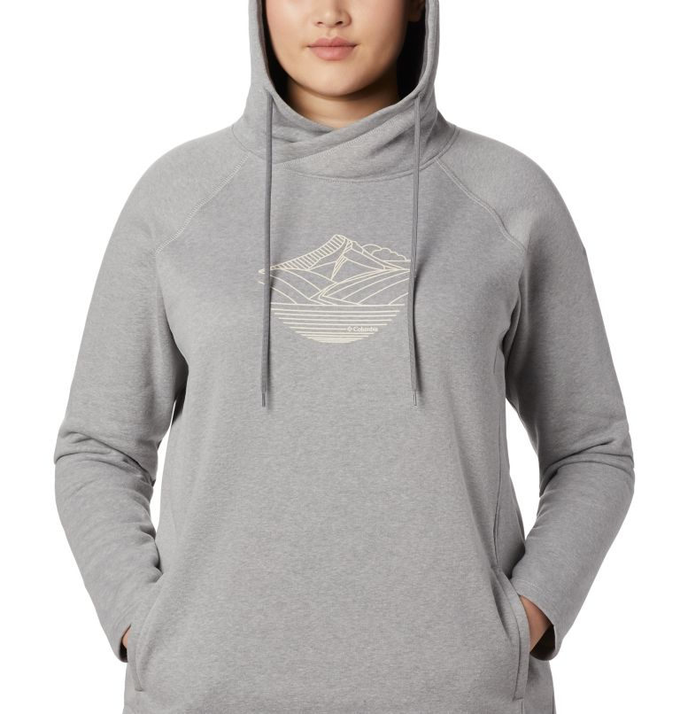 Women's Hart Mountain™ Graphic Hoodie - Plus Size Women's Hart Mountain™ Graphic Hoodie - Plus Size, a3