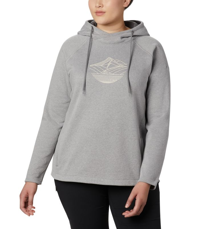 Women's Hart Mountain™ Graphic Hoodie - Plus Size Women's Hart Mountain™ Graphic Hoodie - Plus Size, front
