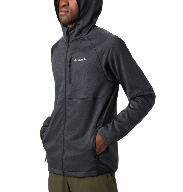 Men's Outdoor Elements Hooded Full Zip Jacket Men's Outdoor Elements Hooded Full Zip Jacket, a3