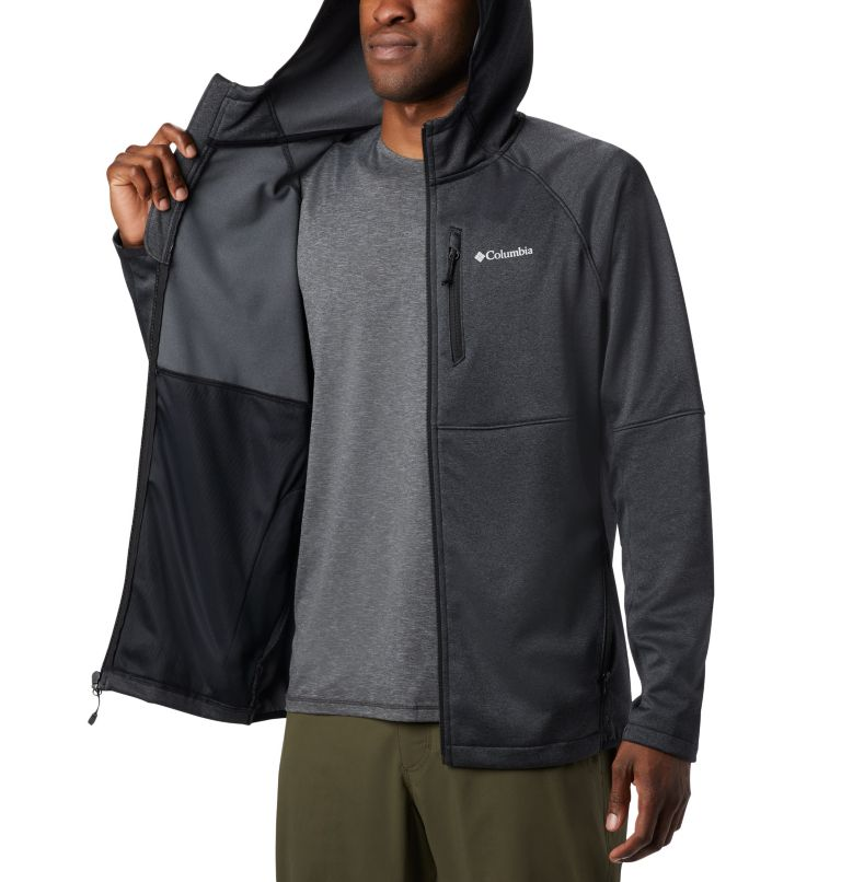 Men's Outdoor Elements Hooded Full Zip Jacket Men's Outdoor Elements Hooded Full Zip Jacket, a4