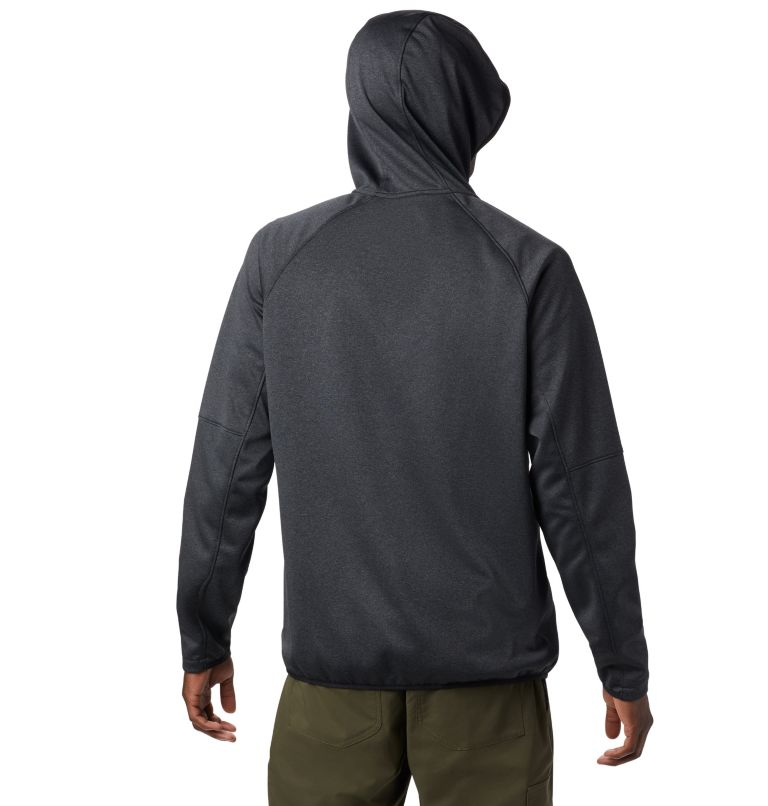 Men's Outdoor Elements Hooded Full Zip Jacket Men's Outdoor Elements Hooded Full Zip Jacket, back