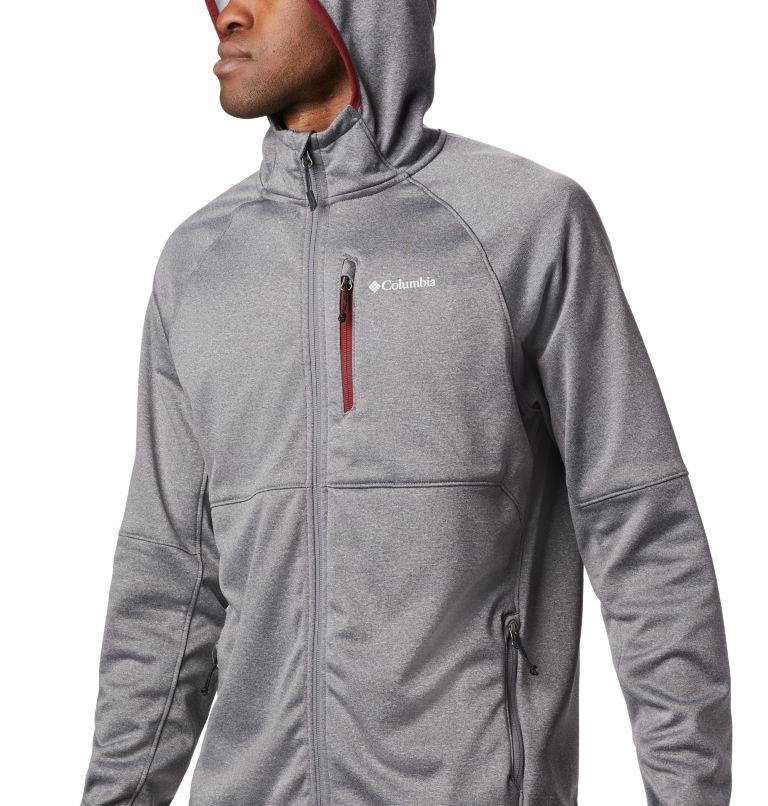 Men's Outdoor Elements Hooded Full Zip Jacket Men's Outdoor Elements Hooded Full Zip Jacket, a1