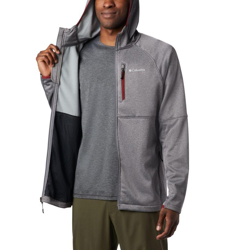Men's Outdoor Elements Hooded Full Zip Jacket Men's Outdoor Elements Hooded Full Zip Jacket, a3