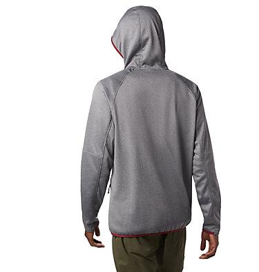Men's Outdoor Elements Hooded Full Zip Jacket , back