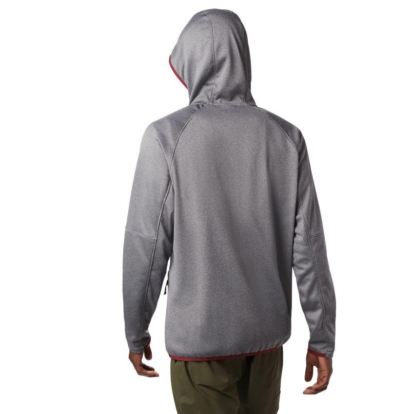 Men's Outdoor Elements Hooded Full Zip Jacket Men's Outdoor Elements Hooded Full Zip Jacket, back