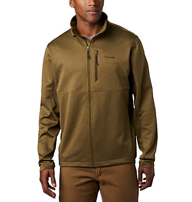 Men's Outdoor Elements Jacket Outdoor Elements™ Full Zip | 478 | S, New Olive, Olive Green, front