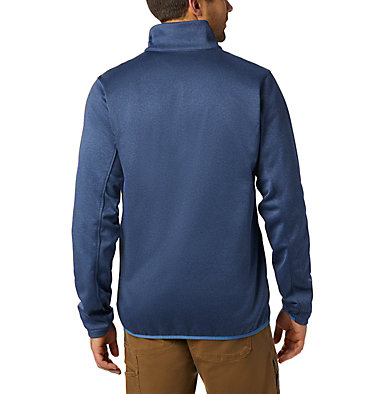 Men's Outdoor Elements Jacket Outdoor Elements™ Full Zip | 478 | S, Dark Mountain, Scout Blue, back