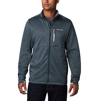 Men's Outdoor Elements Jacket Outdoor Elements™ Full Zip | 010 | L, Night Shadow, Columbia Grey, front