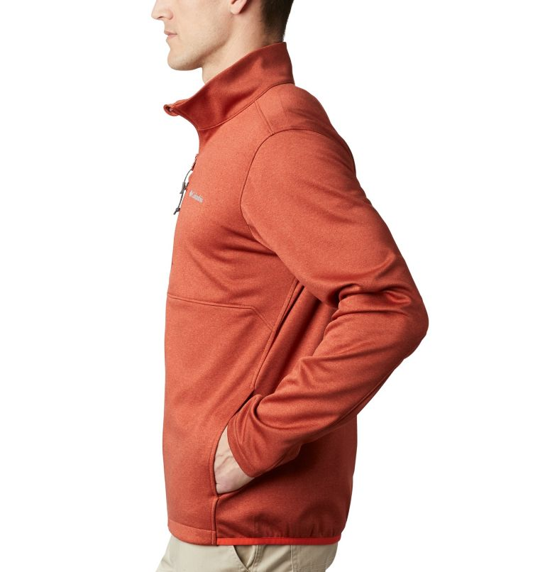 Outdoor Elements™ Full Zip | 835 | XL Men's Outdoor Elements Jacket, Carnelian Red, Wildfire, a1