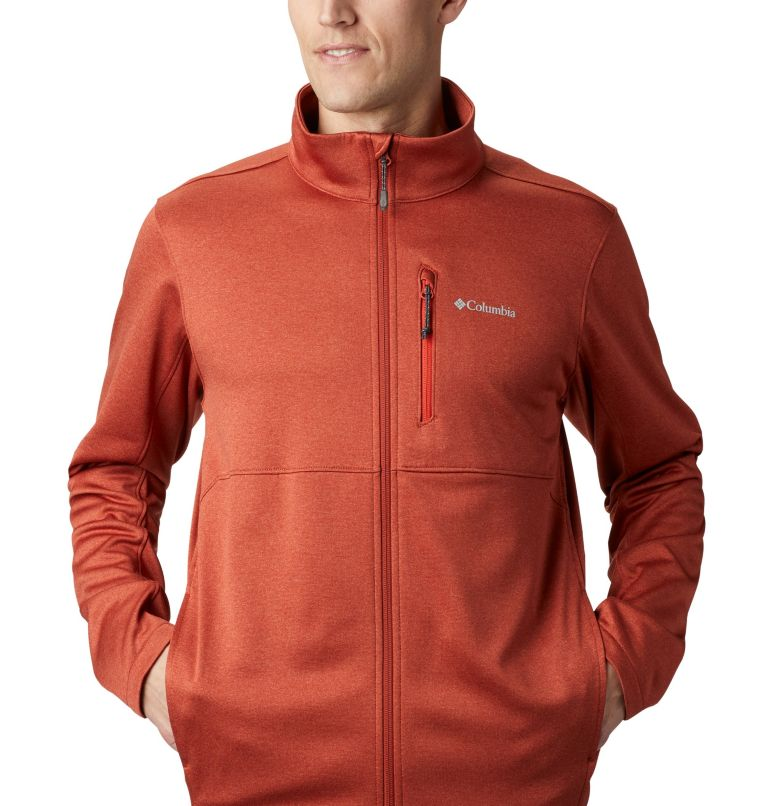 Outdoor Elements™ Full Zip | 835 | XL Men's Outdoor Elements Jacket, Carnelian Red, Wildfire, a2