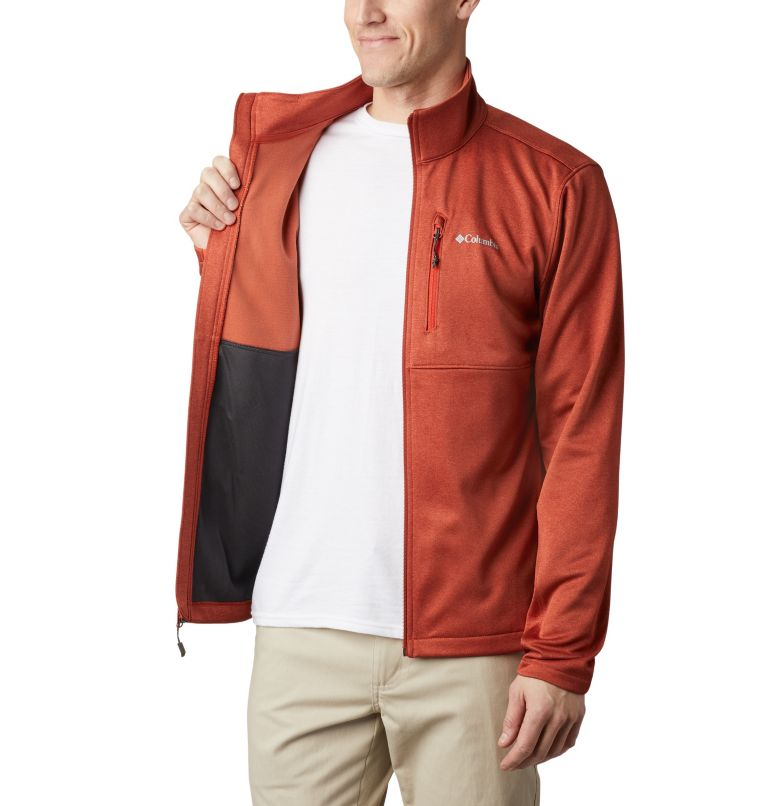 Outdoor Elements™ Full Zip | 835 | XL Men's Outdoor Elements Jacket, Carnelian Red, Wildfire, a3