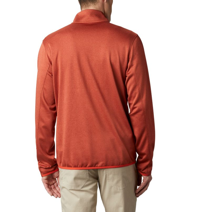 Outdoor Elements™ Full Zip | 835 | XL Men's Outdoor Elements Jacket, Carnelian Red, Wildfire, back