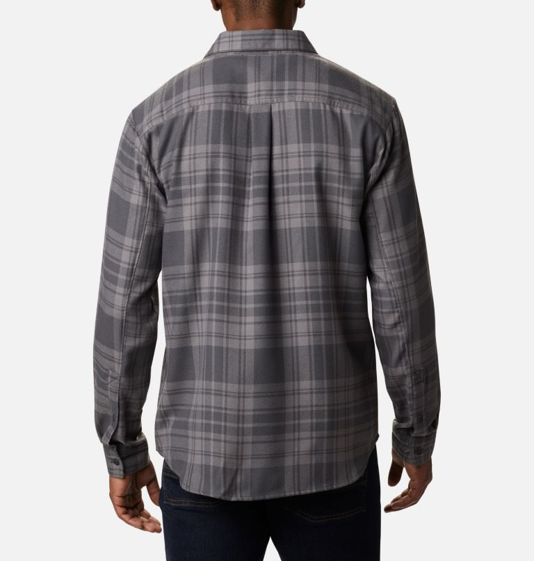 Silver Ridge™ 2.0 Flannel | 011 | S Men's Silver Ridge™ 2.0 Flannel Shirt, Shark Flannel, back