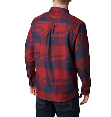 Men's Silver Ridge™ 2.0 Flannel Shirt Silver Ridge™ 2.0 Flannel | 397 | S, Columbia Navy Buffalo Plaid, back
