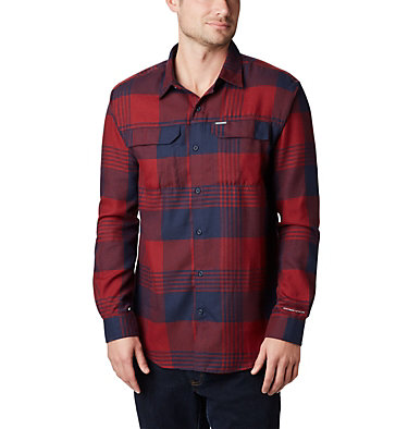 Men's Silver Ridge™ 2.0 Flannel Shirt Silver Ridge™ 2.0 Flannel | 397 | S, Columbia Navy Buffalo Plaid, front