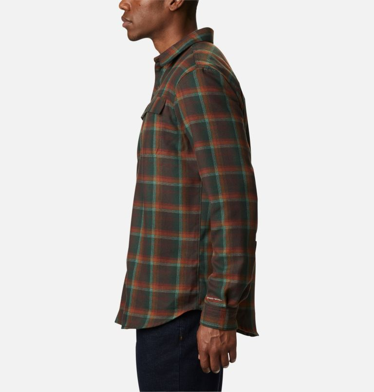 Silver Ridge™ 2.0 Flannel | 630 | S Men's Silver Ridge™ 2.0 Flannel Shirt, Red Lodge Ombre Plaid, a1