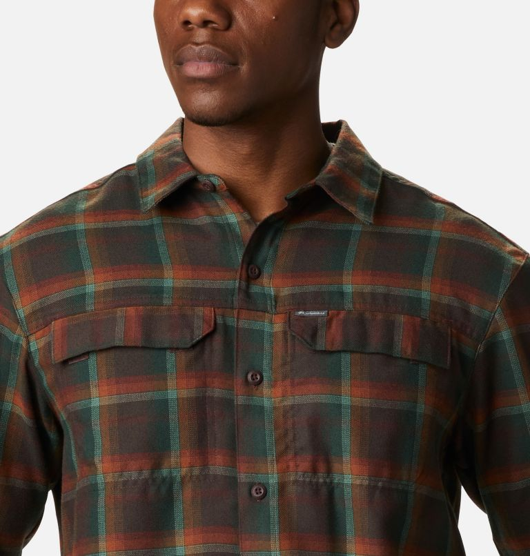 Silver Ridge™ 2.0 Flannel | 630 | S Men's Silver Ridge™ 2.0 Flannel Shirt, Red Lodge Ombre Plaid, a2