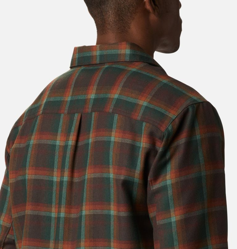 Silver Ridge™ 2.0 Flannel | 630 | S Men's Silver Ridge™ 2.0 Flannel Shirt, Red Lodge Ombre Plaid, a3