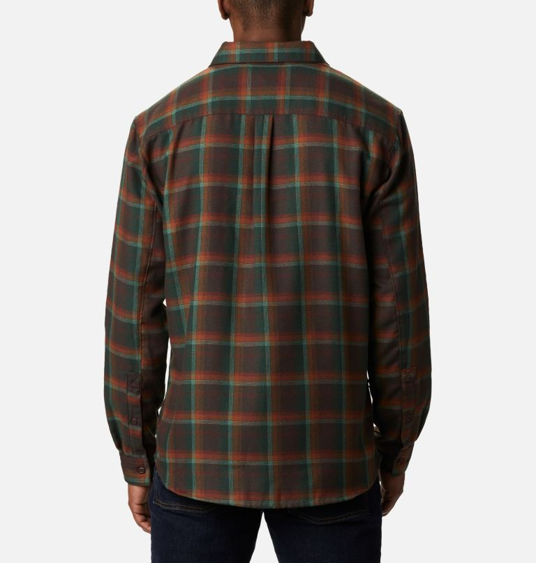 Silver Ridge™ 2.0 Flannel | 630 | XL Men's Silver Ridge™ 2.0 Flannel Shirt, Red Lodge Ombre Plaid, back