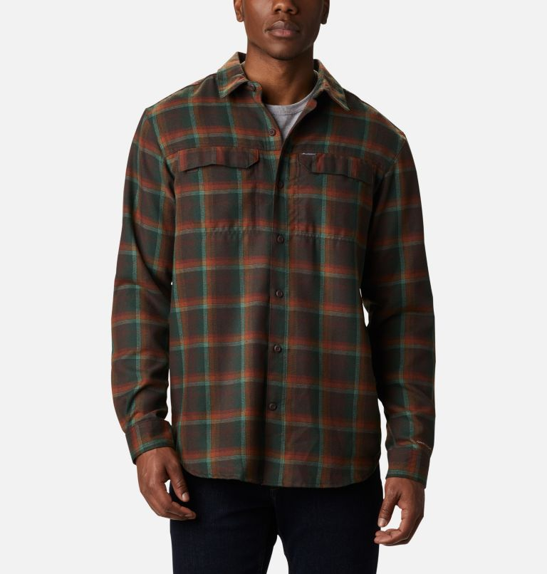 Silver Ridge™ 2.0 Flannel | 630 | XL Men's Silver Ridge™ 2.0 Flannel Shirt, Red Lodge Ombre Plaid, front